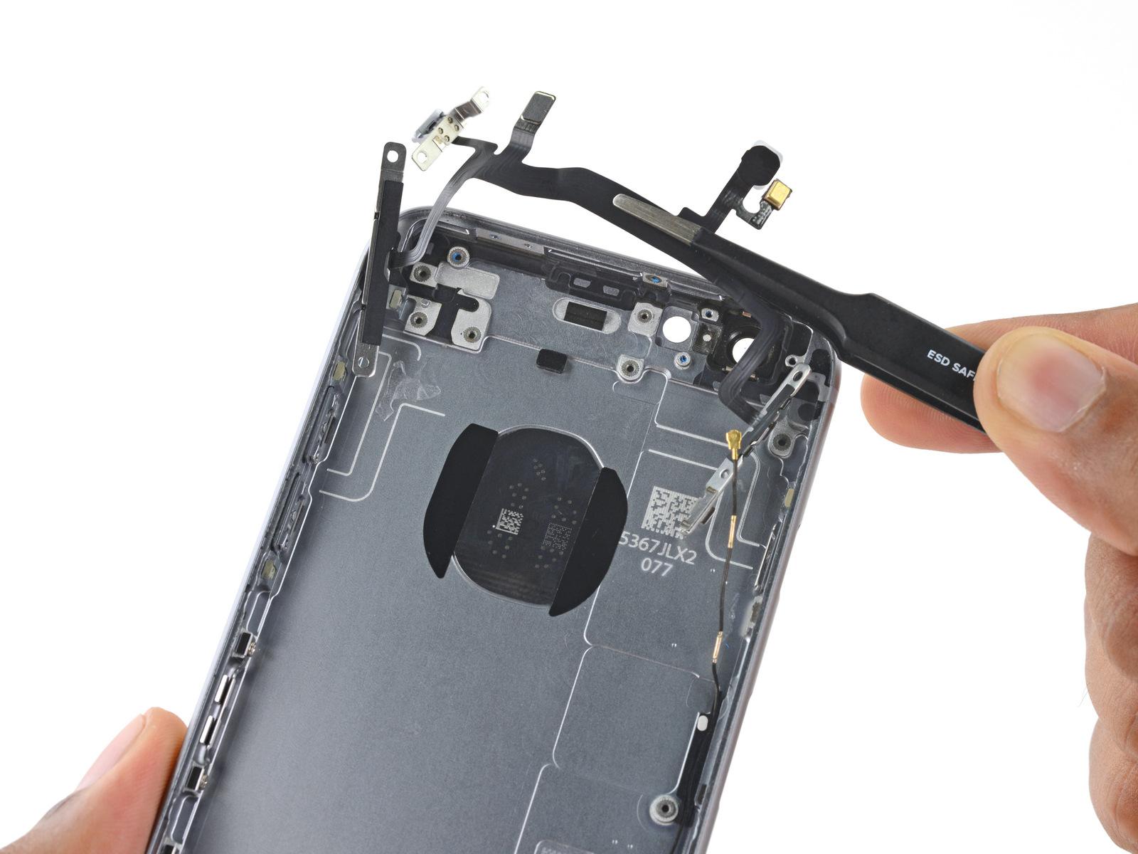 замена верхнего микрофона iphone 6s